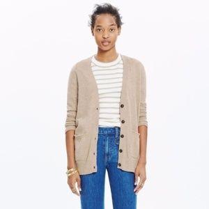 MADEWELL Marled Graduate Cardigan Sweater {Z33)
